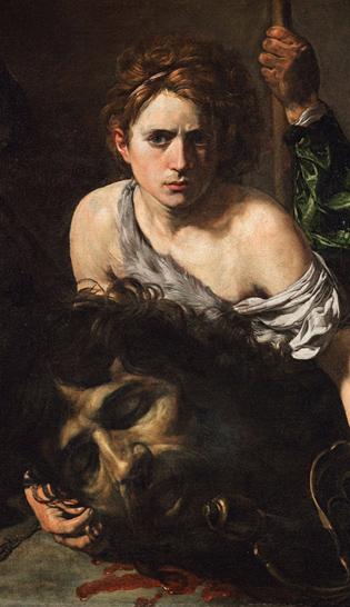 Valentin de Boulogne, David et Goliath