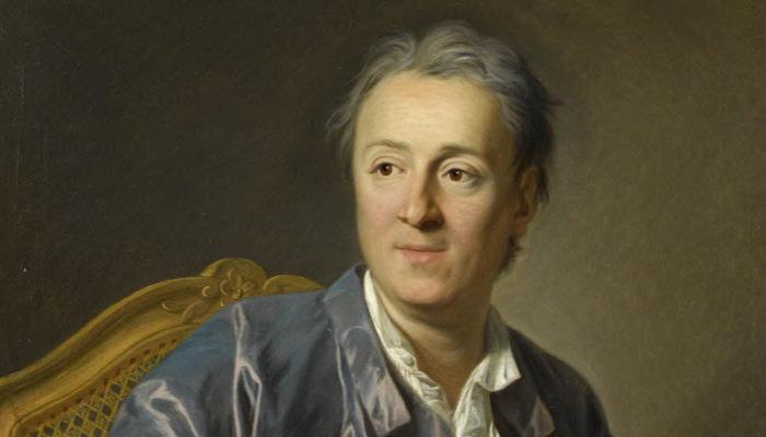 Louis-Michel Van Loo, Denis Diderot, écrivain