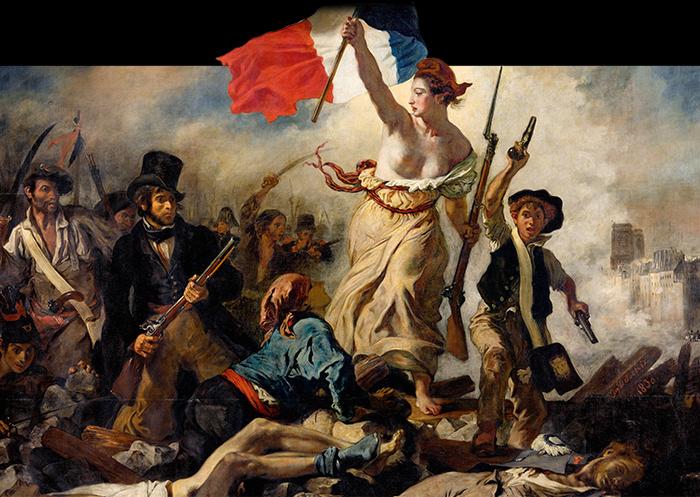 Eugène Delacroix, Le 28 juillet 1830. La Liberté guidant le peuple
