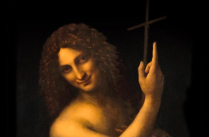 Saint Jean-Baptiste,  Léonard de Vinci