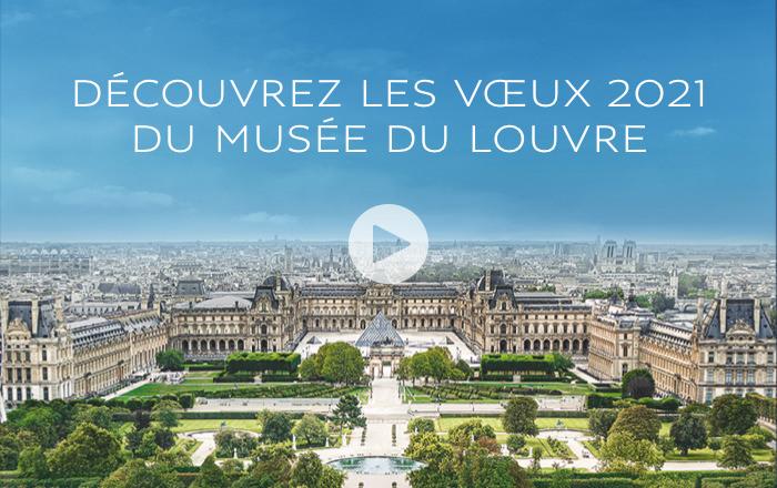 Le musée du Louvre vous souhaite une belle année 2021