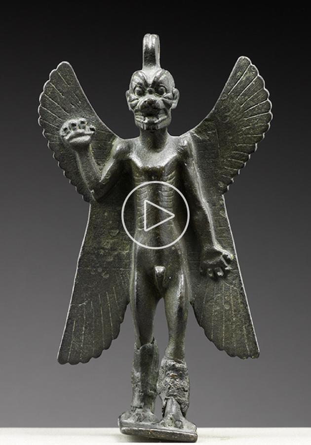 Pazuzu, le roi des démons de l'empire assyrien