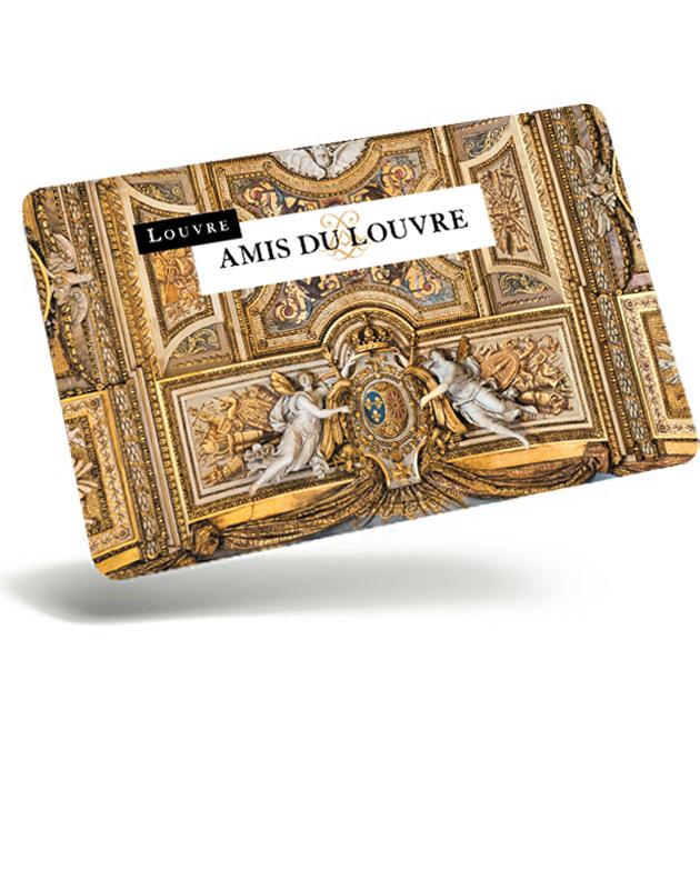 Carte des Amis du Louvre